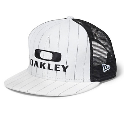 Oakley Pinstripe Trucker Hat, , large