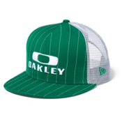 Oakley Pinstripe Trucker Hat, Kelly Green, medium