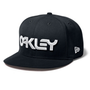 Oakley Factory Snap-Back Hat, Jet Black, medium