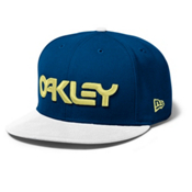 Oakley Factory Snap-Back Hat, Blue Depths, medium