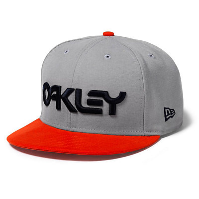 Oakley Factory Snap-Back Hat, Neon Orange, large