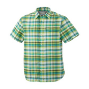Columbia Hyperglide S/S Shirt, Vivid Green, medium