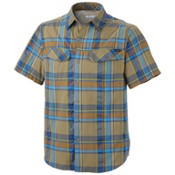 Columbia Silver Ridge Multi Plaid S/S Shirt, Riptide Large Plaid, medium