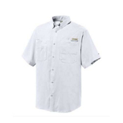 Columbia Tamiami II S/S Shirt, White, medium