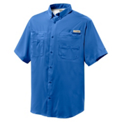 Columbia Tamiami II S/S Shirt, Vivid Blue, medium