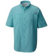 Columbia PFG Tamiami II Short Sleeve Mens Shirt, Moxie, medium