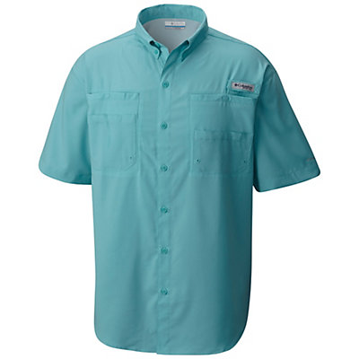 Columbia PFG Tamiami II Short Sleeve Mens Shirt, Vivid Blue, viewer