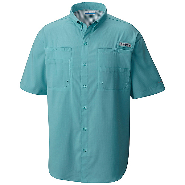 Columbia PFG Tamiami II Short Sleeve Mens Shirt, Moxie, 600