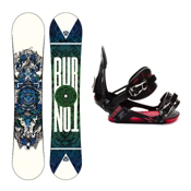 Burton TWC Standard Snowboard and Binding Package 2013, 150cm, medium