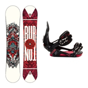 Burton TWC Standard Snowboard and Binding Package 2013, 154cm, medium