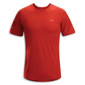 Arc'teryx Motus S/S Crew T-Shirt, Cinnabar, medium