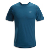Arc'teryx Motus S/S Crew T-Shirt, Thalo Blue, medium