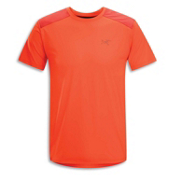 Arc'teryx Ether Comp Crew S/S T-Shirt, Cognac, medium