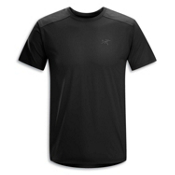 Arc'teryx Ether Comp Crew S/S T-Shirt, Black, medium
