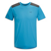 Arc'teryx Ether Comp Crew S/S T-Shirt, Riptide, medium