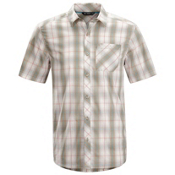 Arc'teryx Pathline S/S Shirt, Chalk Stone, medium