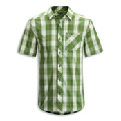 Arc'teryx Pathline S/S Shirt, Stone Pine, medium