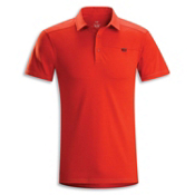 Arc'teryx Captive Polo S/S Shirt, Cinnabar, medium
