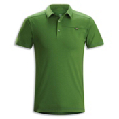 Arc'teryx Captive Polo S/S Shirt, Stone Pine, medium