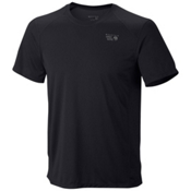 Mountain Hardwear Wicked Lite Short Sleeve T-Shirt, Black, medium