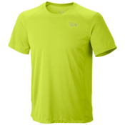 Mountain Hardwear Wicked Lite Short Sleeve T-Shirt, Acid Green, medium