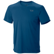 Mountain Hardwear Wicked Lite Short Sleeve T-Shirt, Deep Lagoon, medium