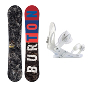 Burton Blunt Snowboard and Binding Package 2013, 151cm, medium