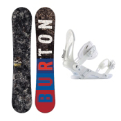 Burton Blunt Snowboard and Binding Package 2013, 155cm, medium