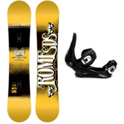 Rome Garage Rocker Snowboard and Binding Package 2013, 152cm, medium
