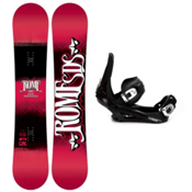 Rome Garage Rocker Snowboard and Binding Package 2013, 154cm, medium