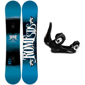 Rome Garage Rocker Snowboard and Binding Package 2013, 156cm, medium