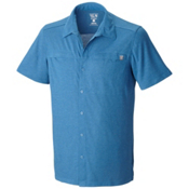 Mountain Hardwear Frequentor Short Sleeve Shirt, Impulse Blue, medium