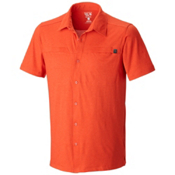Mountain Hardwear Frequentor Short Sleeve Shirt, Russet Orange, medium