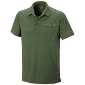 Mountain Hardwear Frequentor Short Sleeve Polo Shirt, Canteen, medium