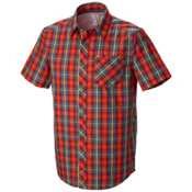 Mountain Hardwear Hibbard Short Sleeve Shirt, Zinfandel, medium