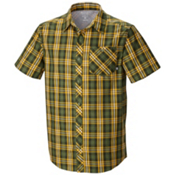 Mountain Hardwear Hibbard Short Sleeve Shirt, Stone Green, medium