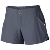 Mountain Hardwear Petrina Womens Shorts, Graphite, medium