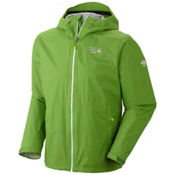 Mountain Hardwear Plasmic Mens Jacket, Backcountry Green, medium