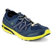 Sperry Shock Light w/ ASV Mens Watershoes, Navy-Green, medium