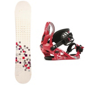 Swivel Sparkle Kat Girls Snowboard and Binding Package 2013, , medium