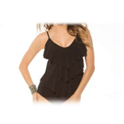 Magic Suit Solids Rita Bathing Suit Top, Black, medium