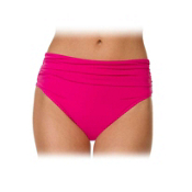 Magic Suit Mattie Jersey Brief Bathing Suit Bottoms, Pink, medium