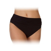 Magic Suit Mattie Jersey Brief Bathing Suit Bottoms, Black, medium