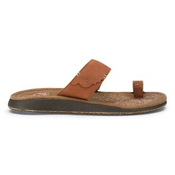 Olukai Hauhoa Womens Sandals, Cognac-Toffee, medium