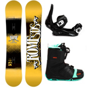 Rome Garage Rocker Complete Snowboard Package 2013, 152cm, medium