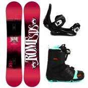 Rome Garage Rocker Complete Snowboard Package 2013, 154cm, medium