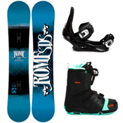 Rome Garage Rocker Complete Snowboard Package 2013, 156cm, medium