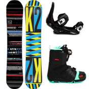 K2 Playback Complete Snowboard Package 2013, 148cm, medium