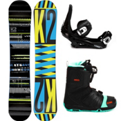 K2 Playback Complete Snowboard Package 2013, 152cm, medium