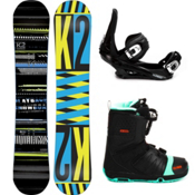 K2 Playback Complete Snowboard Package 2013, 158cm, medium